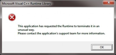 Runtime error when starting to Play in Advanced Edit.jpg
